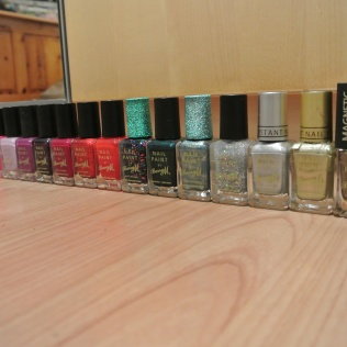 My Barry M collection